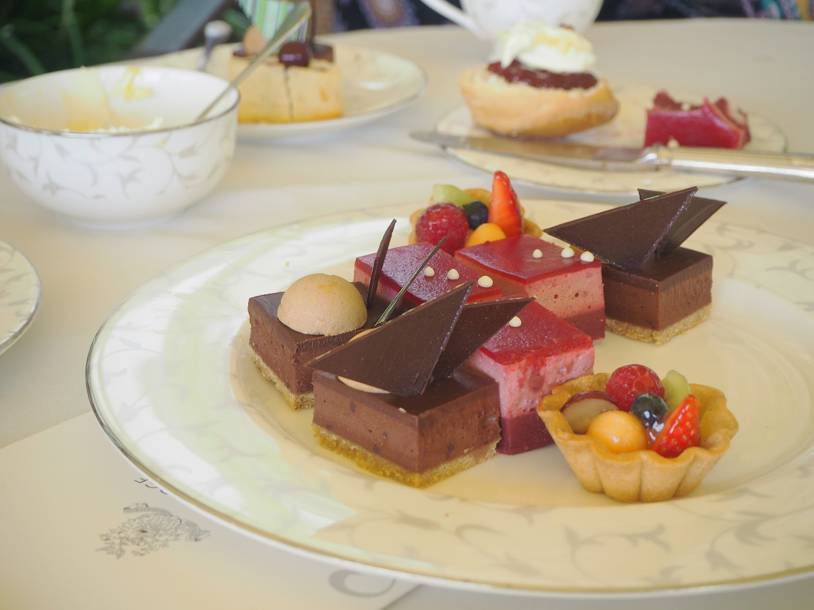 Afternoon tea review at South Lodge in Horsham - cake selection