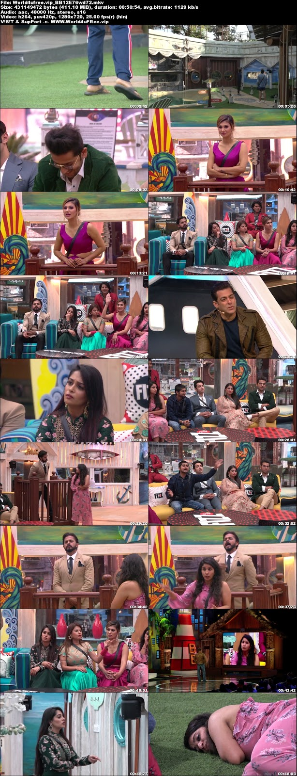 Bigg Boss 12 Episode 76 01 December 2018 720p WEBRip 400Mb x264 world4ufree.fun tv show Bigg Boss 12 Download Episode 76 01  november 2018 world4ufree.fun 400mb 720p HD  free download or watch online at world4ufree.fun