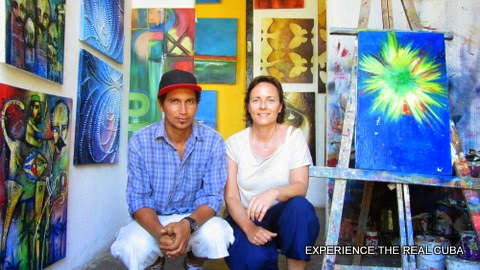 Painting Lessons in Cuba