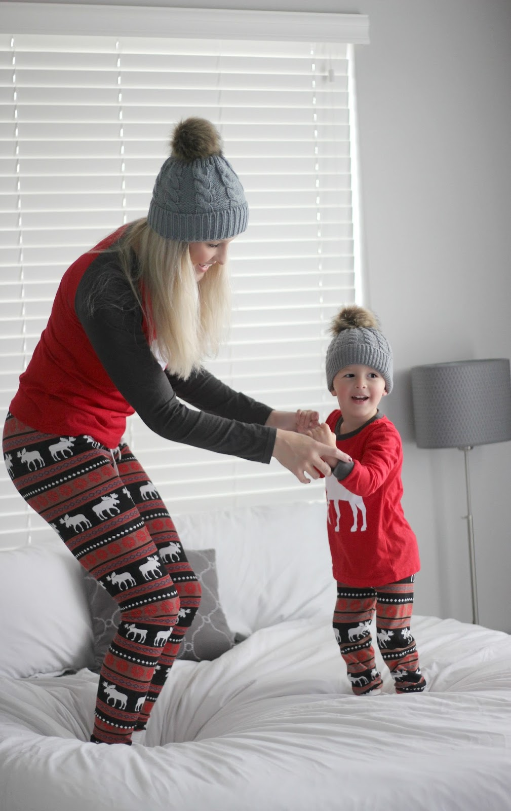 Fashion & Lifestyle: Mommy & Me - Christmas Jammies