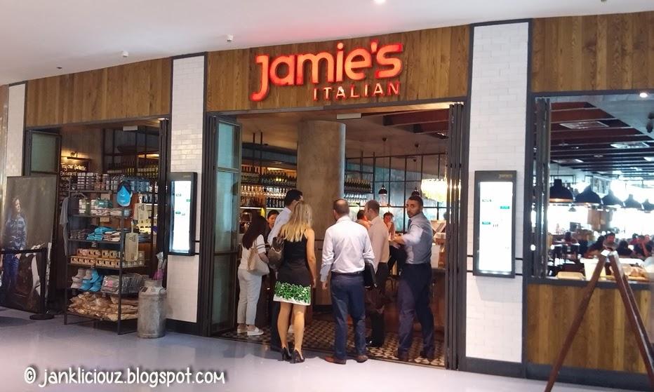 Jamie's Italian Singapore Restaurant