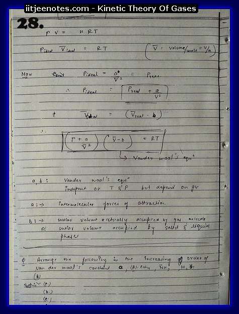Kinetic Theory Of Gases Notes13