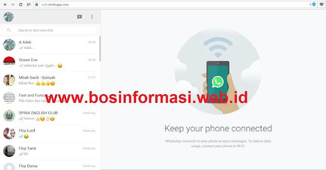 WhatsApp PC siap digunakan