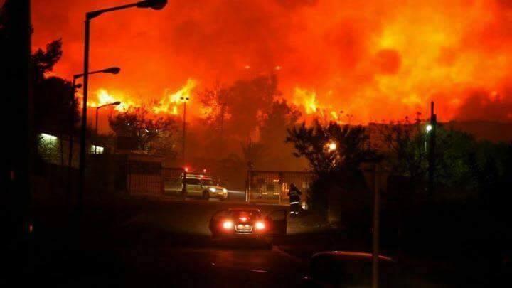 Allahu Akbar, Kaum yang Melampaui Batas Israel Menjadi Lautan Api !