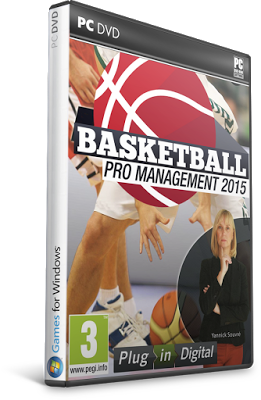 Basketball Pro Management 2015 - RELOADED For PC Full Version Download Cover Screen Shot