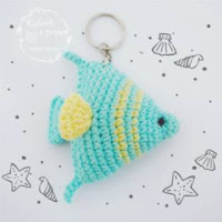 Crochet Fish Amigurumi: Clownfish - Free and quick pattern | 200x200