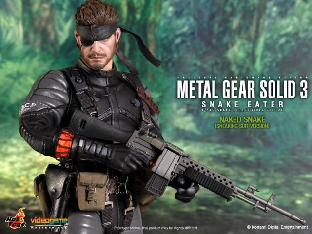 1/6 Hot Toys VGM15 METAL GEAR SOLID 3 NAKED SNAKE IN STOCK