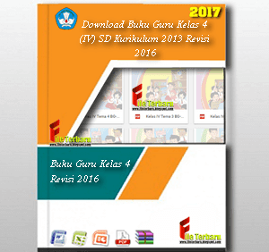 Download Buku Guru Kelas 4 (IV) SD Kurikulum 2013 Revisi 2016 Semester 1