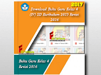 Download Buku Guru Kelas 4 (IV) SD Kurikulum 2013 Revisi 2016