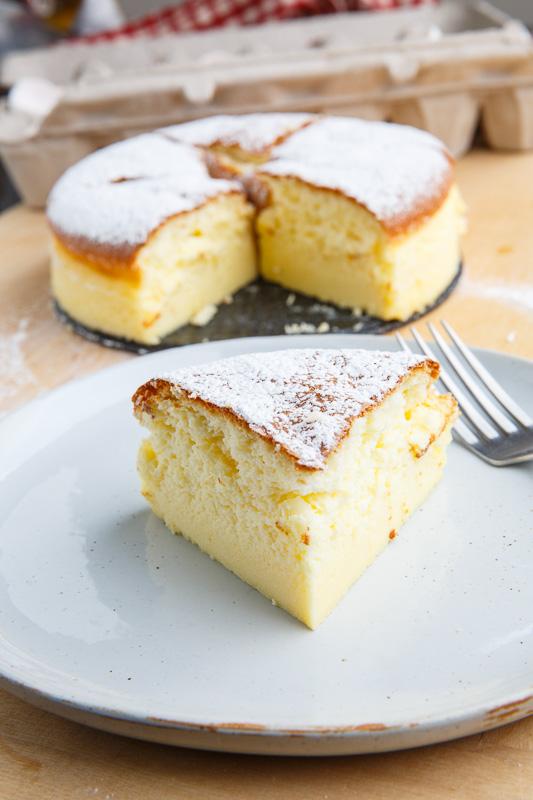 Japanese Souffle Cheesecake