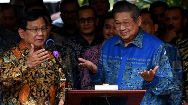 Tak Ingin Rakyat Menderita, Cendana dan Cikeas Bersatu Menangkan Prabowo-Sandi