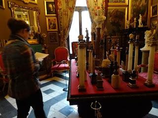 Sala de las columnitas. Museo Cerralbo