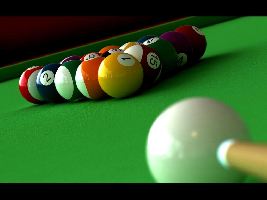 wallpapers: Billiards Balls Wallpapers