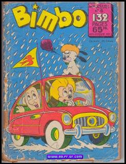 Bimbo, 2eme série, numéro 6,1958