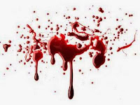 bercak darah