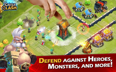 Castle Clash Mod v.1.2.82 Apk Data Terbaru 2016
