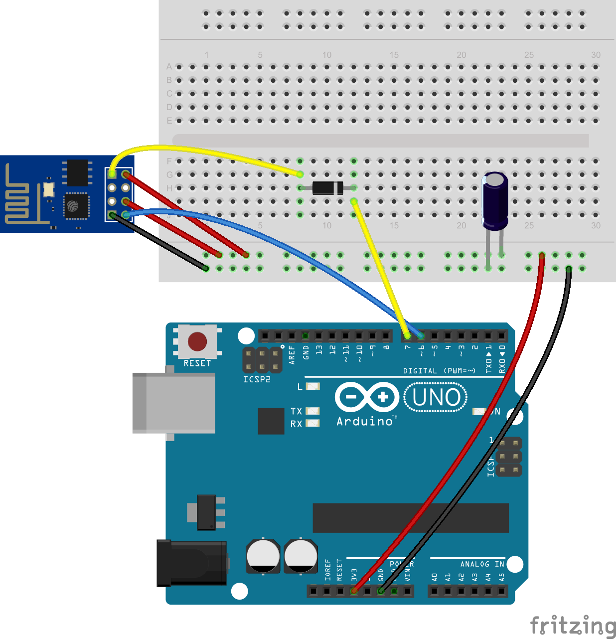 Query GET and response JSON --> ESP8266 + arduino uno