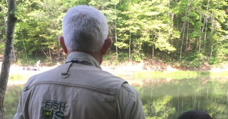 The national forests of north carolina will sponsor a for Youth fishing tournaments near me