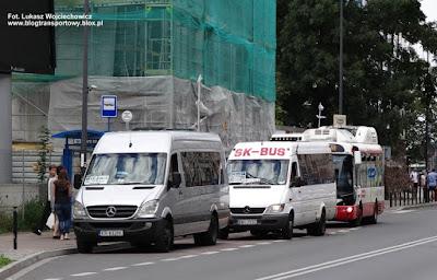 Mercedesy Sprintery i Rampini Alé EL