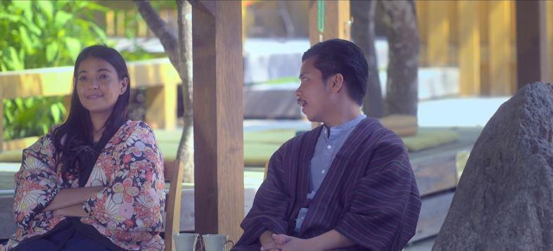 Empoy Marquez as Tonyo and Alessandra de Rossi as Lea in 'Kita Kita'