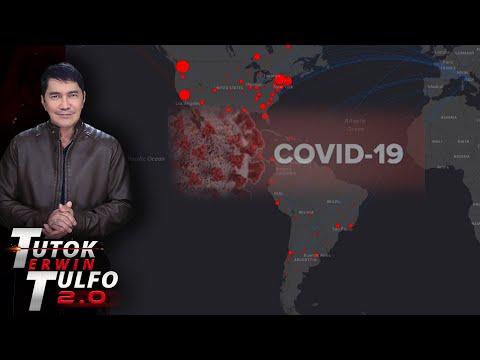 AMERIKA NA ANG MAY PINAKAMARAMING INFECTED NG COVID-19 SA BUONG MUNDO...82,830 na ang may sakit. | Erwin Tulfo