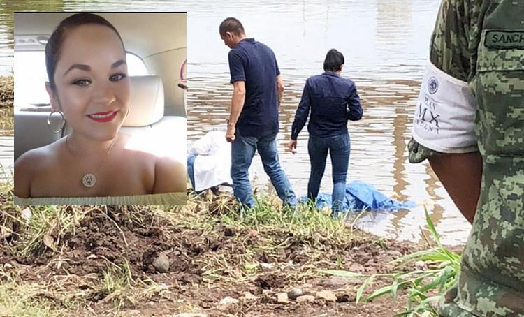 Localizan el cuerpo de una joven desaparecida flotando en aguas negras en Culiacán, Sinaloa.