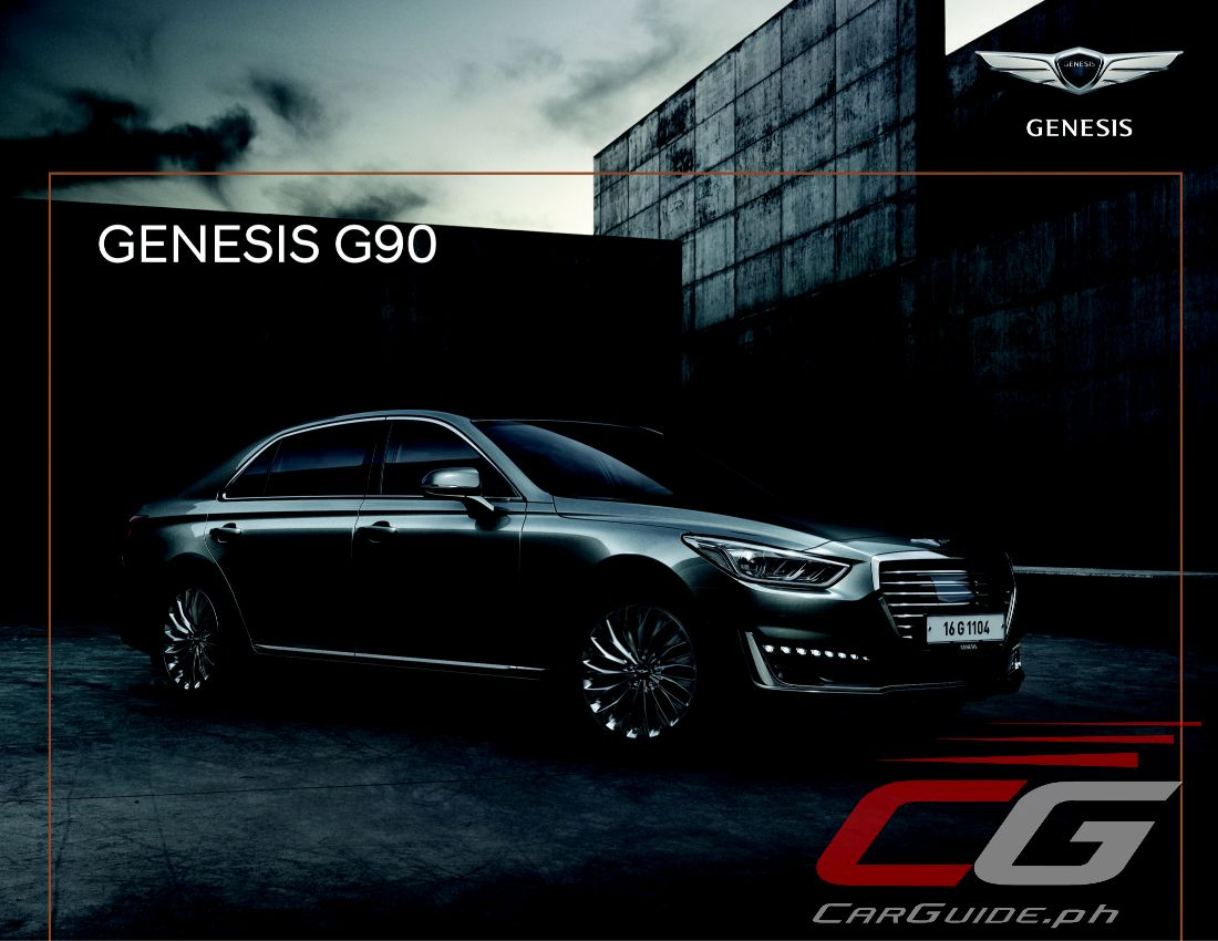 MIAS 2017: Hyundai Genesis G90 is Your P 7.528M Ode to ...