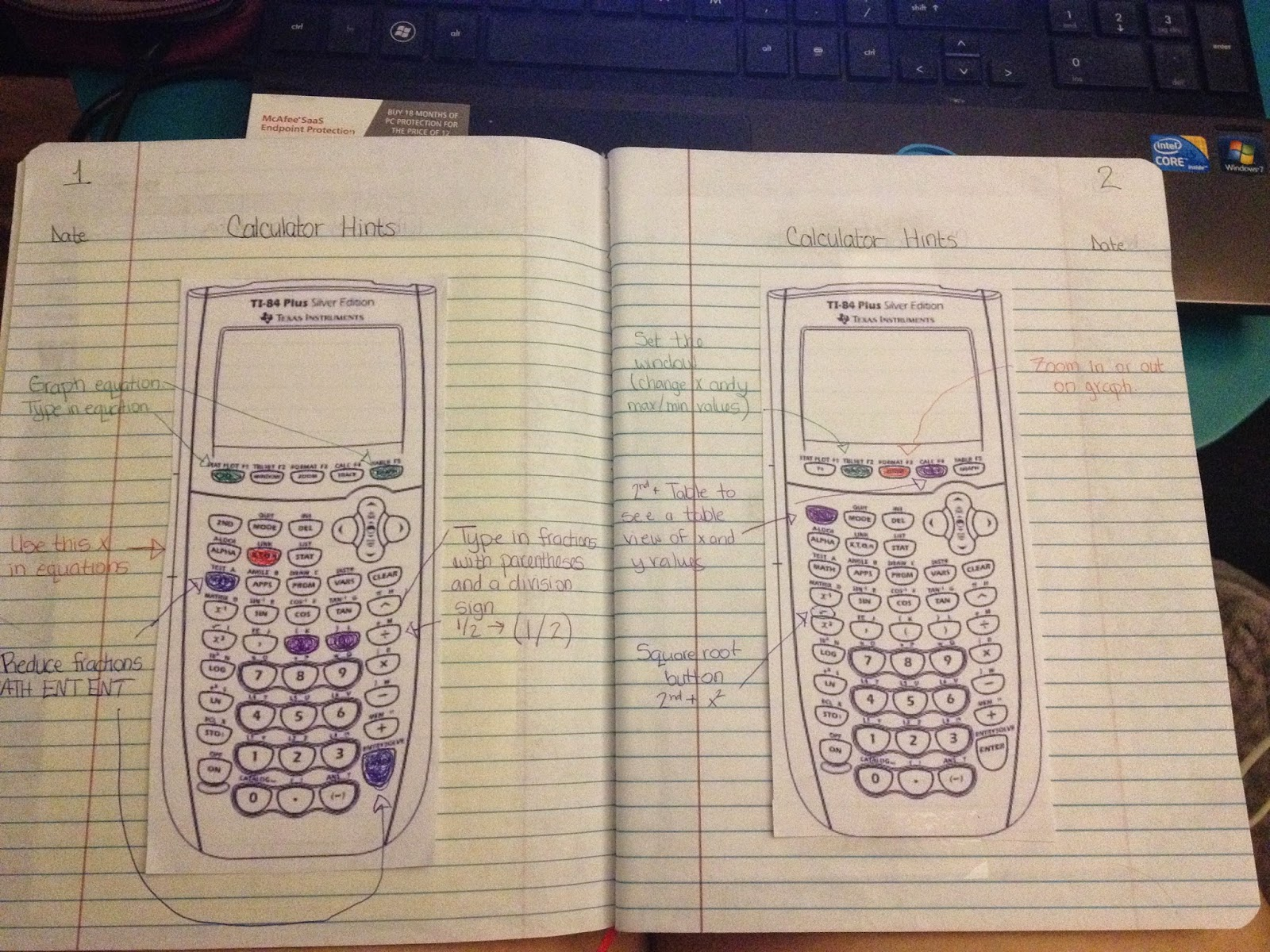 Misscalcul8 Day 5 7 Interactive Notebook Setup And Memes