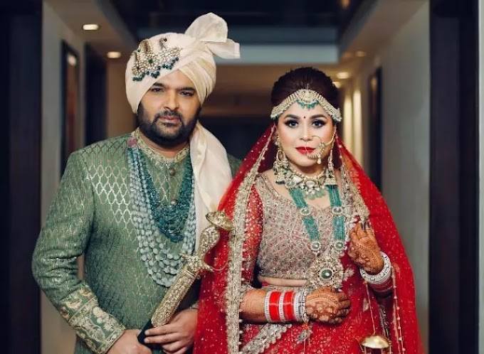 Kapil Sharma gets married to Ginni Chatrath, check out newlyweds