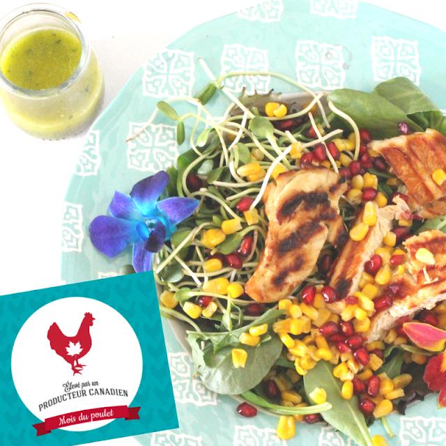 Septembre: Menu poulet de semaine - mois national du poulet - #CDNChickenMonth
