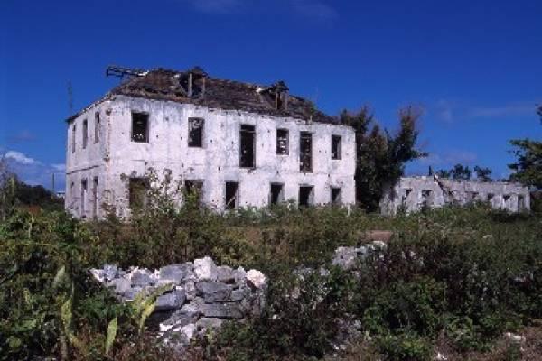 ruins, plantation, property