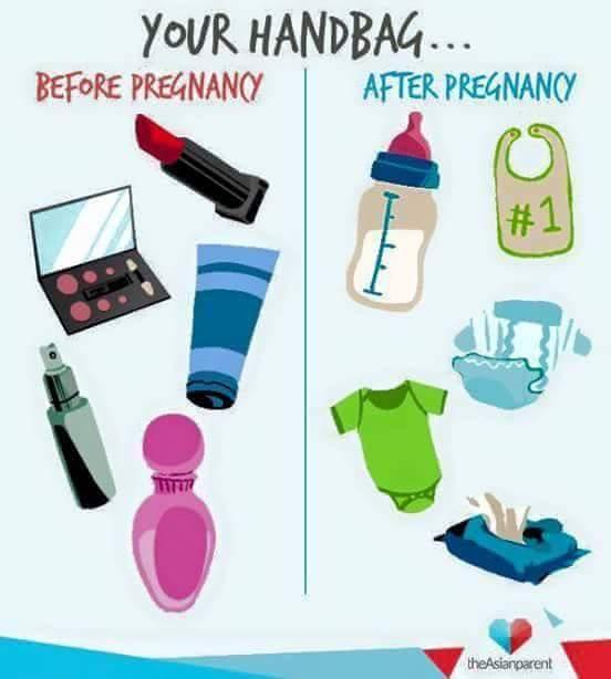 Beg Tangan Perempuan Berubah Selepas Ada Anak???