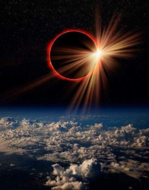 La NASA tomó las mejores fotos del eclipse