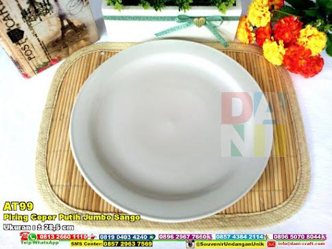 Piring Ceper Putih Jumbo Sango