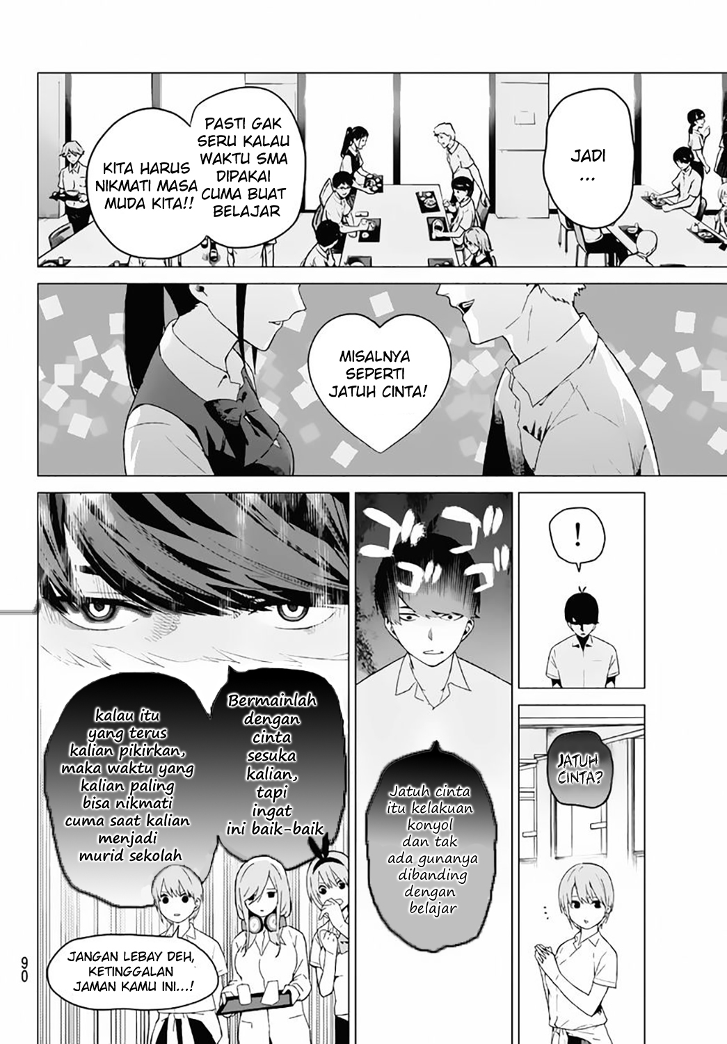 Komik Go-toubun No Hanayome Chapter 3 Bahasa Indonesia