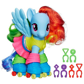 My Little Pony Fashion Style Wave 2 Rainbow Dash Brushable Pony