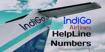Customer Care Number Of Indigo, Indigo Customer Care Number India