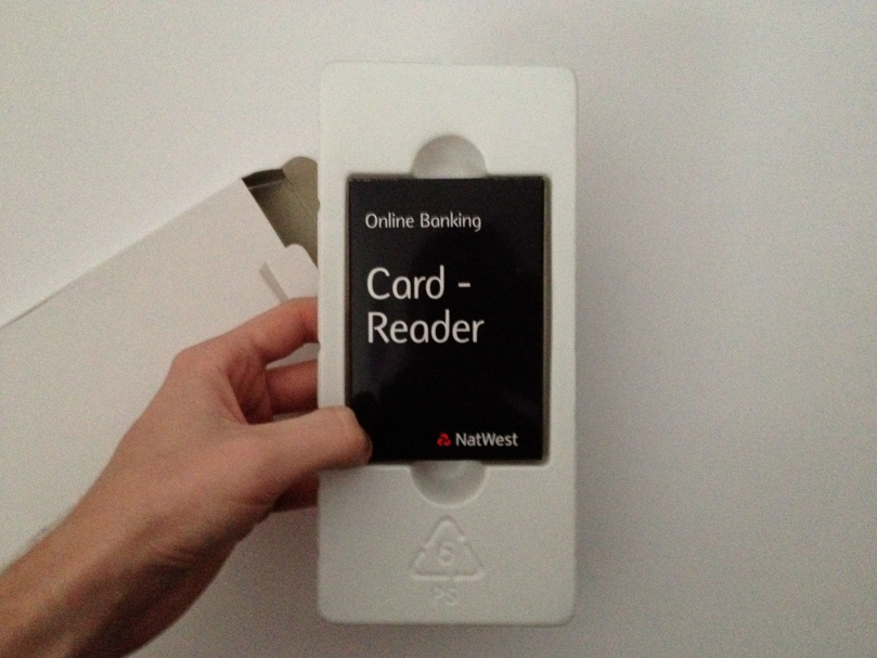 design context good is natwest card reader packaging