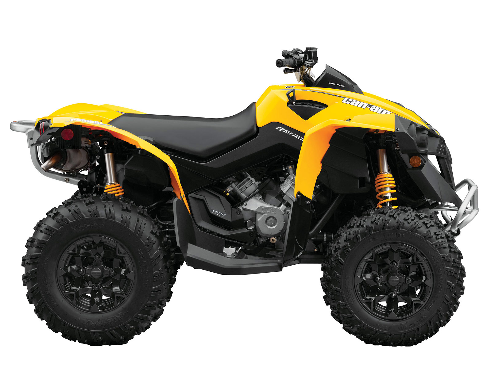 2013 can am renegade 1000 atv pictures and specifications. Black Bedroom Furniture Sets. Home Design Ideas
