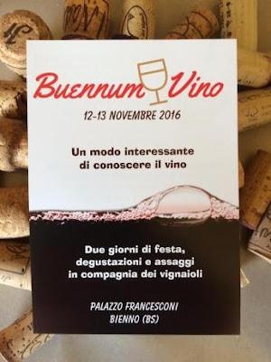 Buennum Vino 12-13 novembre Bienno (BS)