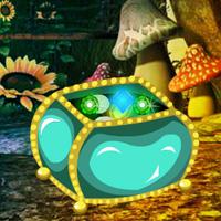 WowEscape Fantasy Emerald Treasure Escape