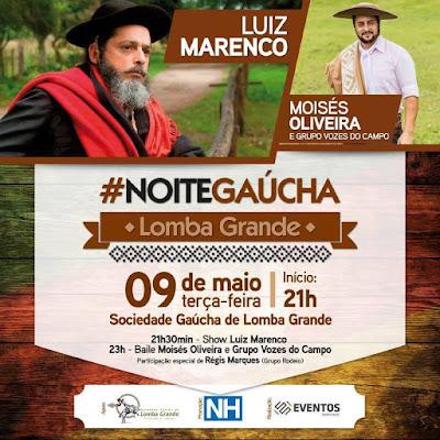 #Noite Gaúcha