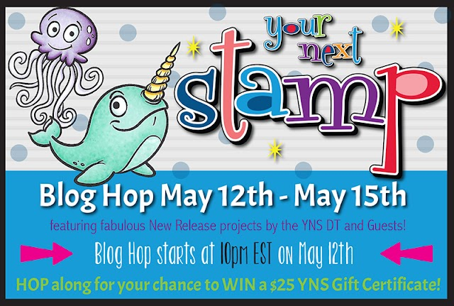 Your next Stamp New Release Blog Hop - Comment to Win!