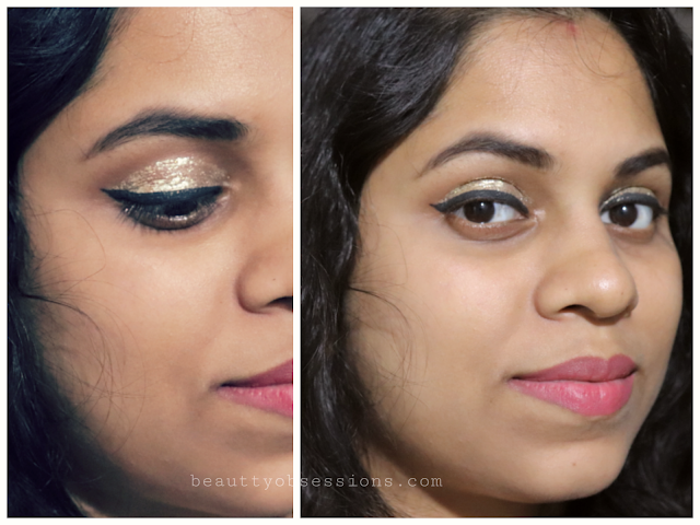 so today I am here again with another beauty product Beautybigbang Glitter Gel Eyeshadow Cream Review