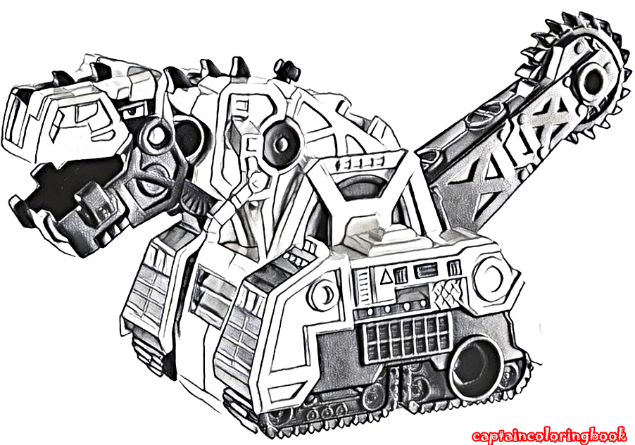 Dinotrux coloring pages printable - Coloring Page