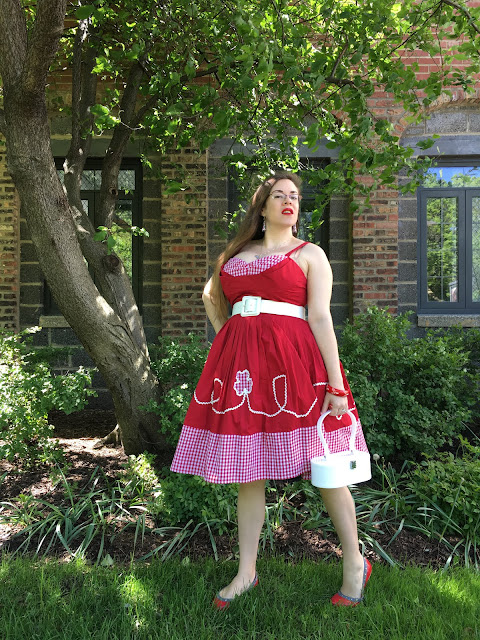 Trashy Diva red picnic Lena dress