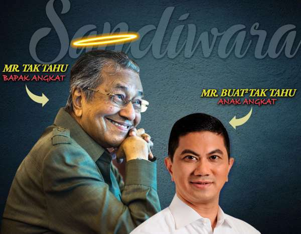 Mahathir Tidak Tahu, Azmin Selalu Buat Tidak Tahu