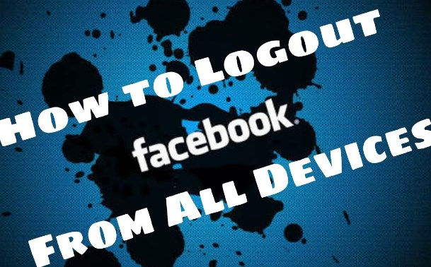 facebook login and log out