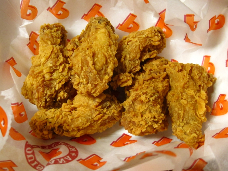 review popeyes spicy cajun wings - Popeyes Louisiana Kitchen Spicy Chicken Wing