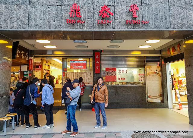 original Din Tai Fung in Taiwan